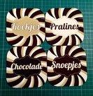 Onderzetters-chocolade