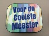 Koekjesdoos coole meester_