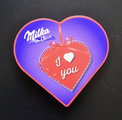 MILKA HART I LOVE YOU