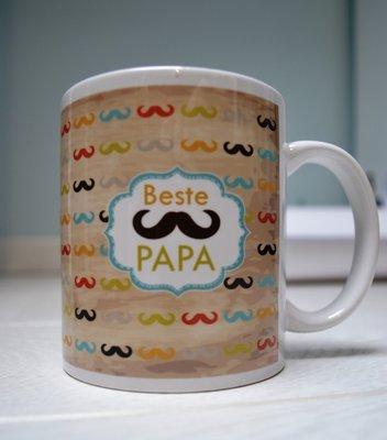 Tas Beste Papa snor