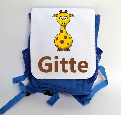 Boekentas klein giraf