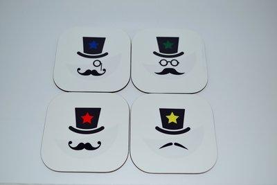 Onderzetters moustache