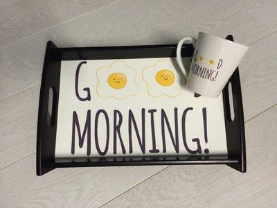 Dienblad Goodmorning