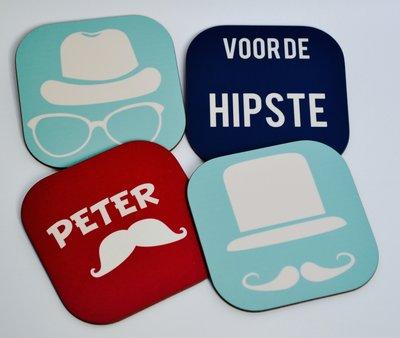 Onderzetters voor de hipste peter