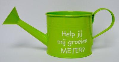 Groene gieter meter