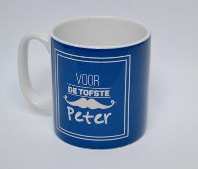Tas voor de tofste peter_blauw