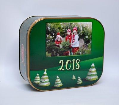 Koekjesdoos kerst groen 2018