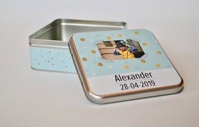 Blikken Doos Communie Alexander 2019