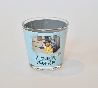 Theelichthouder Communie Alexander 2019