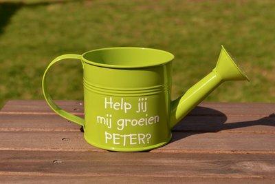 Groene gieter peter