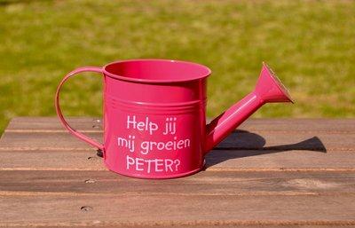 Roze gieter peter