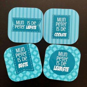 Onderzetters peter liefste leukste tofste coolste