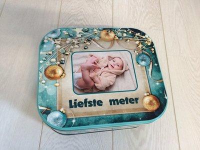 Koekjesdoos Kerst Liefste Meter De Cadeau Shop