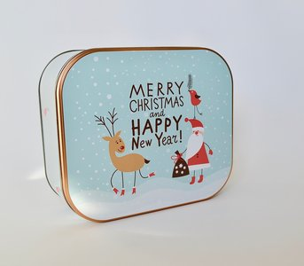 Koekjesdoos Merry Christmas