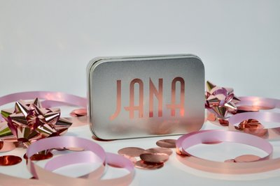 Doosje vraag communie Jana Tekst Rose Goud 2020