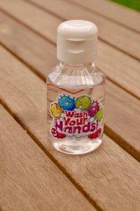Handgel Wash your hands